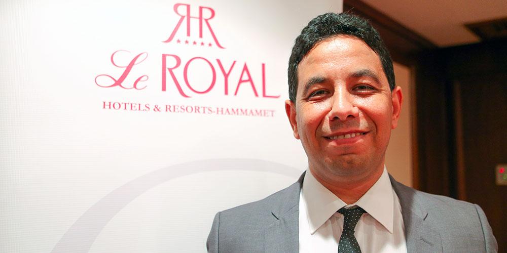 Maher Mokaddem nommé Directeur de l'hôtel Le Royal Hammamet