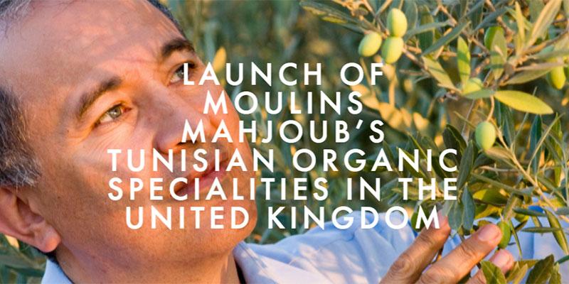 Les produits BIO des Moulins de Mahjoub à la conquête du Royaume-Uni