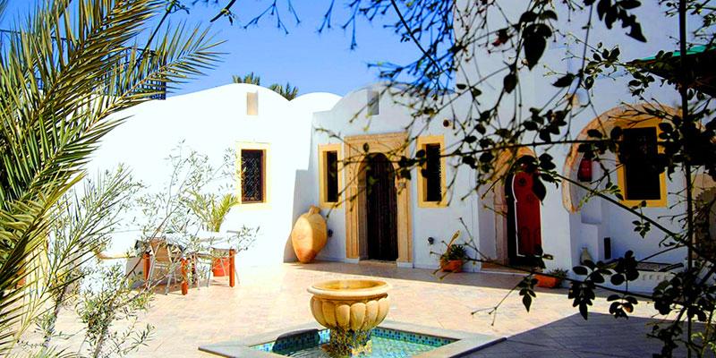 En photos : Découvrez Maison Leila, une charmante maison d'hôtes à Djerba Midoun