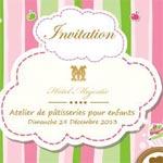 Atelier de pâtisserie pour enfants à l'Hôtel Majestic le 29 Décembre 2013