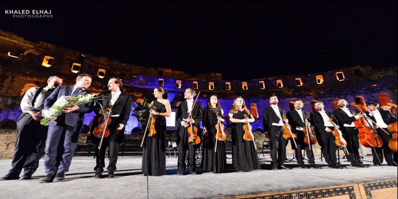 Concerto Malaga du Festival International de musique symphonique d'el jem.