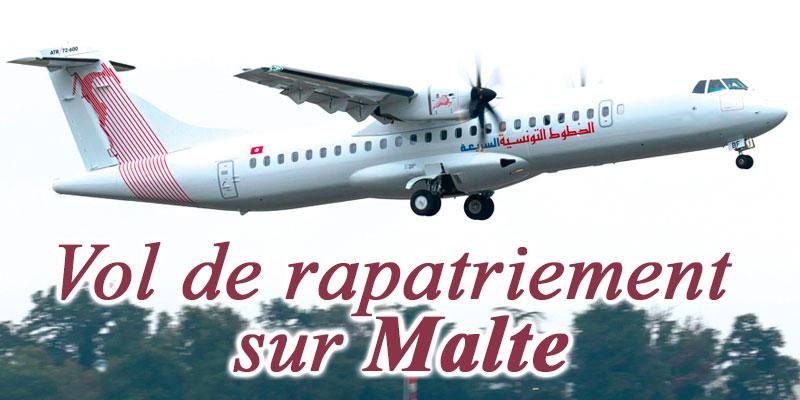Tunisair Express met en place un vol de rapatriement sur Malte