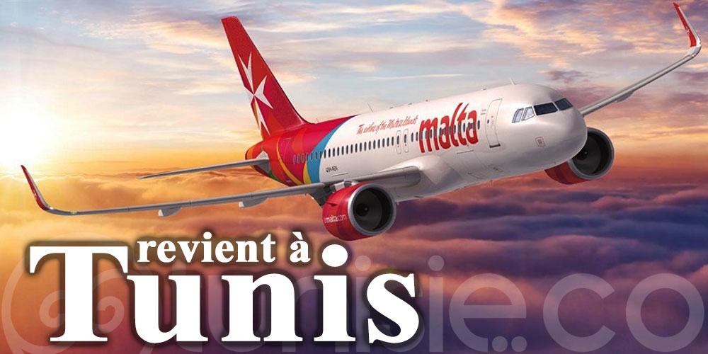 Air Malta revient à Tunis