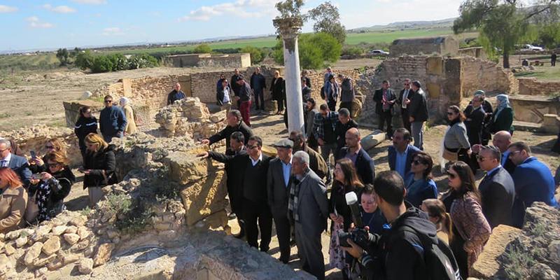 الموقع الأثري سيدي غريب ثاني نقطة لمسار مشروع مسلك سياحي بولاية منوبة