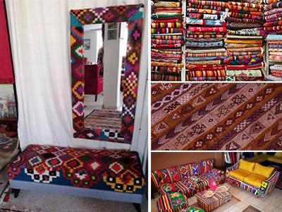 Des idées sympathiques pour utiliser notre beau Margoum tunisien