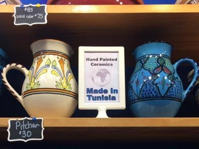 L'artisanat tunisien au marché de NoÃ«l de Bryant Park à New York