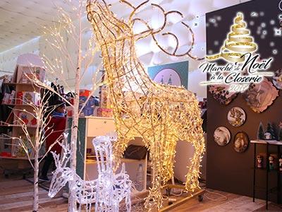 En vidéo : Réussite de la 2éme édition du marché de Noel à la closerie