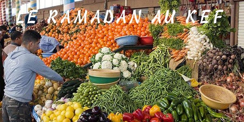 En photos : L'ambiance ramadanesque au marché du Kef