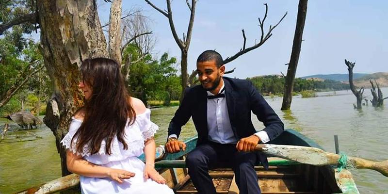Un mariage tunisien en pleine nature, en toute simplicité