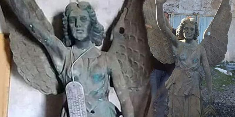Une statue de l'Ange Marie saisie à Tabarka !