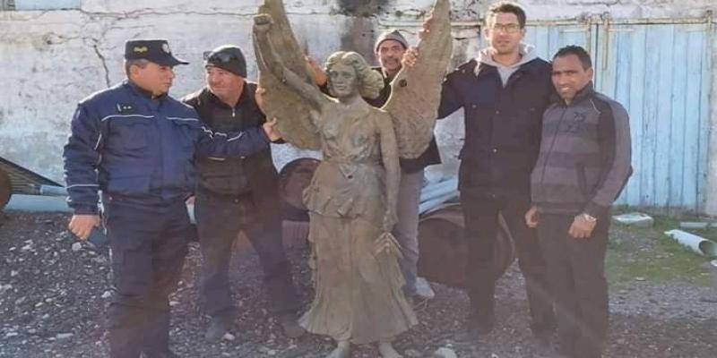 Le vrai du faux sur la statue de la Vierge Marie de Tabarka