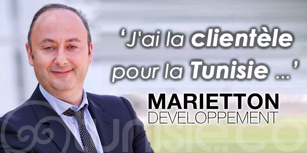 Marietton : Quand je mets un charter sur la Tunisie, j'ai la clientèle''