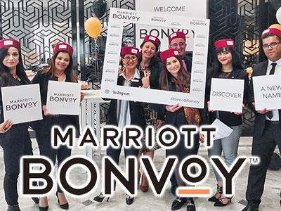 Le Sheraton Tunis célèbre Marriott Bonvoy son nouveau programme de fidélité