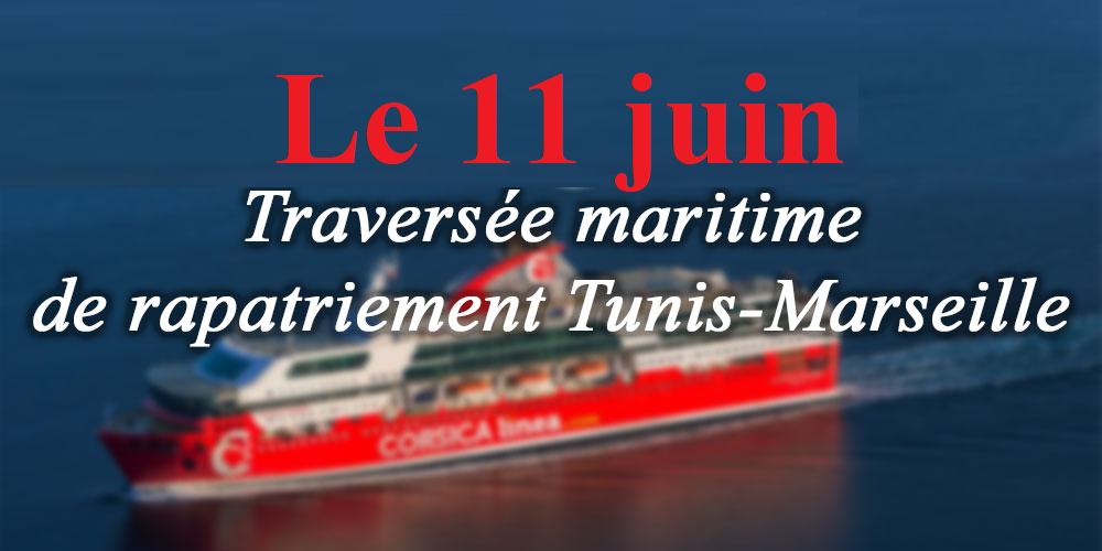 Mise en place d'une 3e liaison maritime Corsica Linea Tunis - Marseille