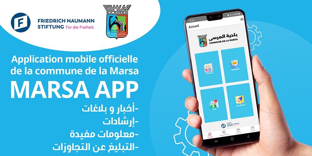 Lancement de la phase pilote de la première application intelligente modèle offrant des services aux citoyens de la ville de la Marsa