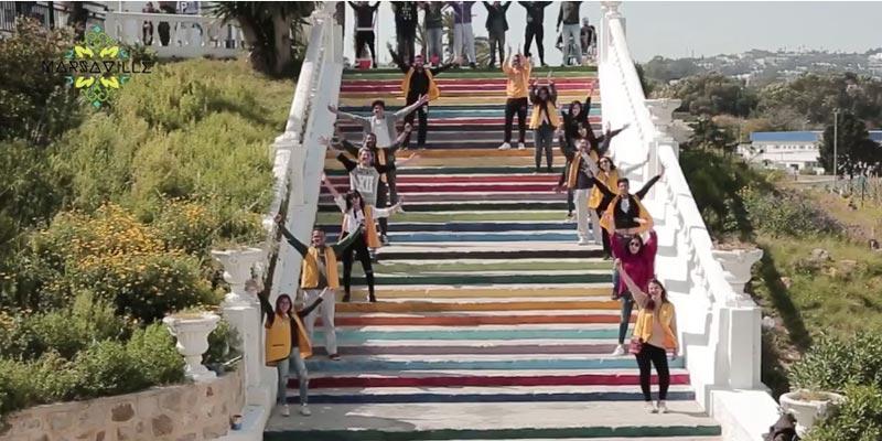 La Marsa, et si on profitait des escaliers pour exprimer sa créativité ?