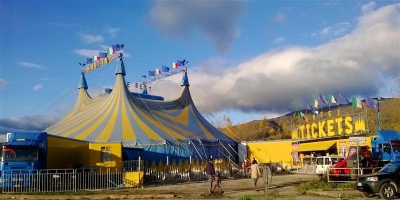 Le cirque Martini à Ezzahra du 08 au 24 juin