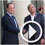 François Hollande invite les Français à passer leurs vacances en Tunisie