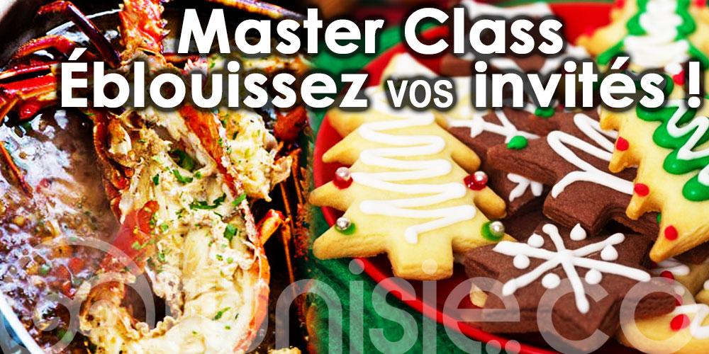 4 dernières Master Class spéciales fêtes de fin d'année !