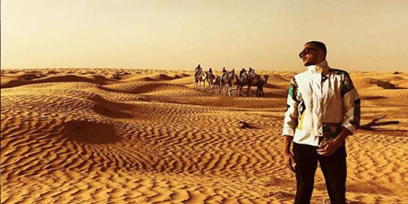 Samy Fetriche danse avec les dunes... en photos