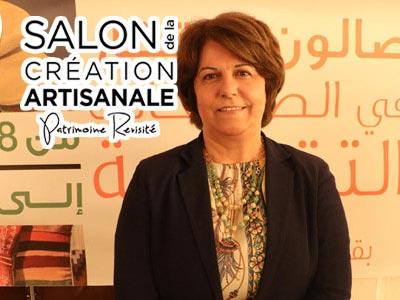 Mme. Asma Medhioub présente la 34ème édition du Salon de Création Artisanale au Kram