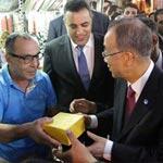 Les artisans de la Médina accueillent chaleuresement Ban Ki-Moon