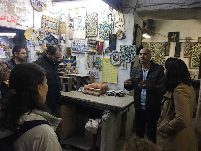 Promotion d'une expérience authentique combinant tourisme alternatif et culturel à la Médina