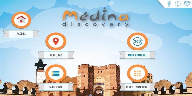 Medina Discovery : La nouvelle application qui vous aide à découvrir la Medina Yasmine Hammamet