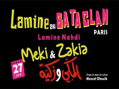 Le One-man show MEKKI & ZAKIA au festival de rire tunisien à paris '' Le Dernier Samedi ''