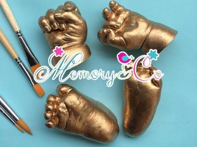 Avec Memory & Co, immortalisez vos moments inoubliables grâce au moulage d'empreinte 3D