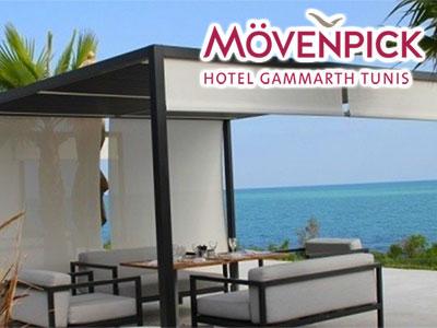 Réouverture des terrasses Horizon et lobby du Mövenpick Hotel Gammarth Tunis