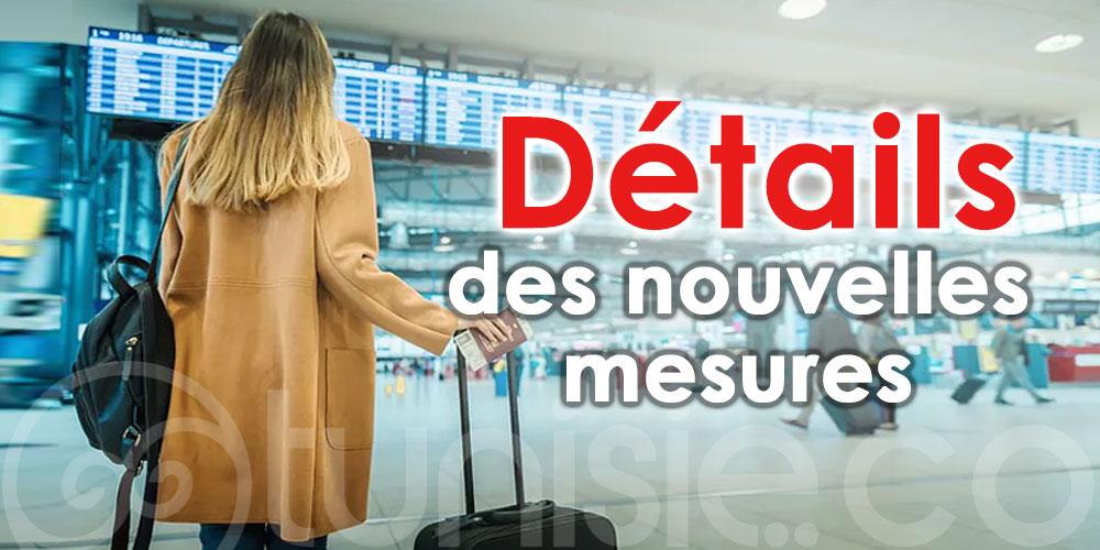 Détails des nouvelles mesures pour les voyageurs arrivant en Tunisie dans le cadre de voyages organisés