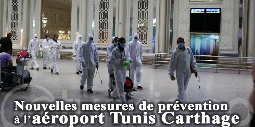 Voici les nouvelles mesures de prévention à l'aéroport Tunis Carthage