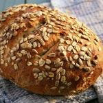 Recette : Miche de pain d'avoine et graines de tournesol