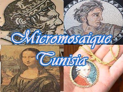 La micromosaïque Tunisienne à l'honneur à Bavay en France du 4 au 9 juillet