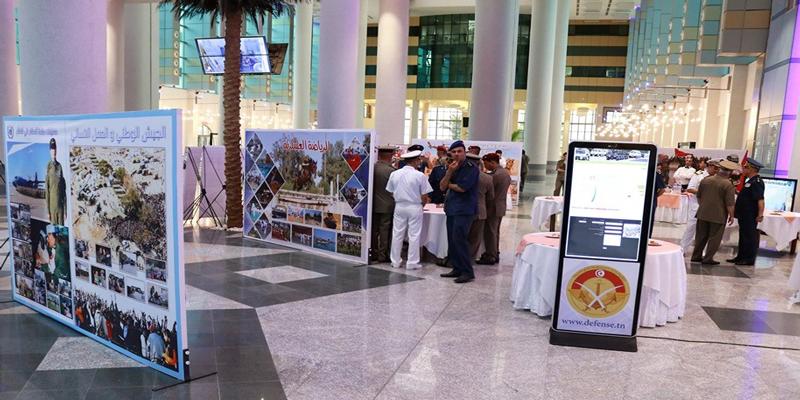 افتتاح المعرض الوثائقي للجيش الوطني بمناسبة الذكرى 63 لانبعاثه