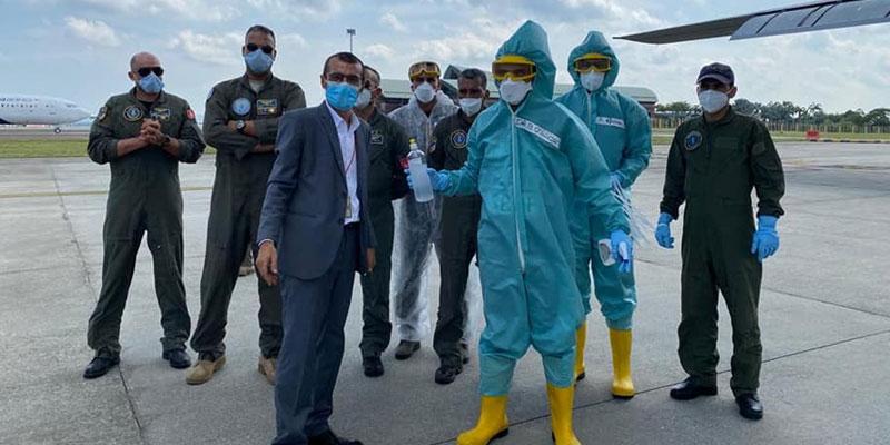 À bord d'un avion militaire, 45 Tunisiens au départ de Bali
