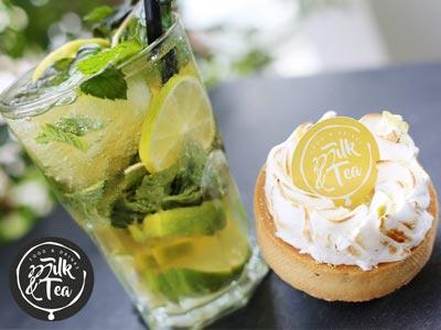 En photos : Découvrez Milk & Tea, le nouveau salon de thé à Ennasr 1