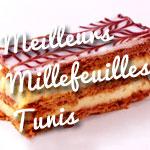 Où peut-on manger un bon millefeuille à Tunis ?