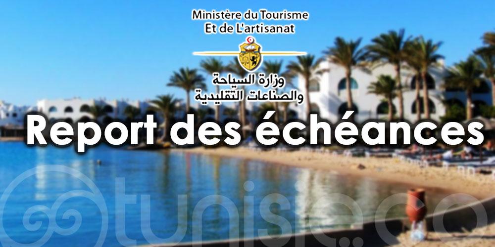 Report des échéances et procédures exceptionnelles pour les établissements touristiques