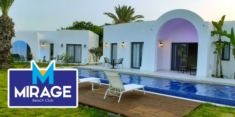 En photos : Découvrez les Luxury Bungalows et Villas du Mirage Hammamet