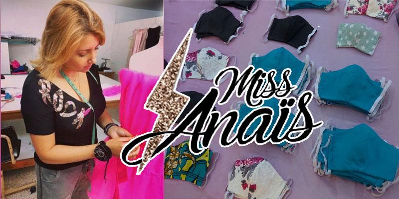 Miss Anaïs, quand la Haute Couture rejoint la guerre contre le Covid-19