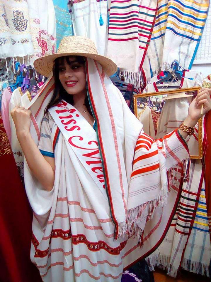 Quand Miss Médenine s'habille à la Djerbienne