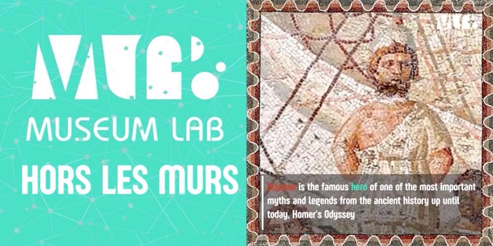 Hors les Murs pour faire découvrir en vidéos les chefs-d'oeuvre muséaux de la Tunisie