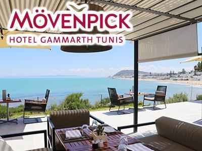 Le Mövenpick Gammarth vous accueille sur sa terrasse et à El Omnia pendant Ramadan