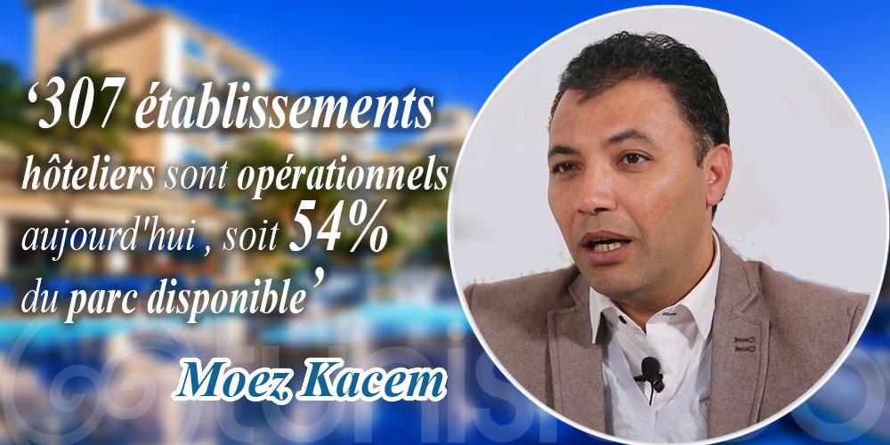 Kacem: 307 établissements hôteliers opérationnels aujourd'hui