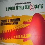 Ce soir, l'Afrique fête la démocratie à la coupole d'El Menzeh