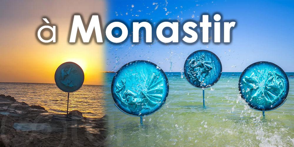 Découvrez la magnifique installation des 'Peintures Épistolaires' à Monastir