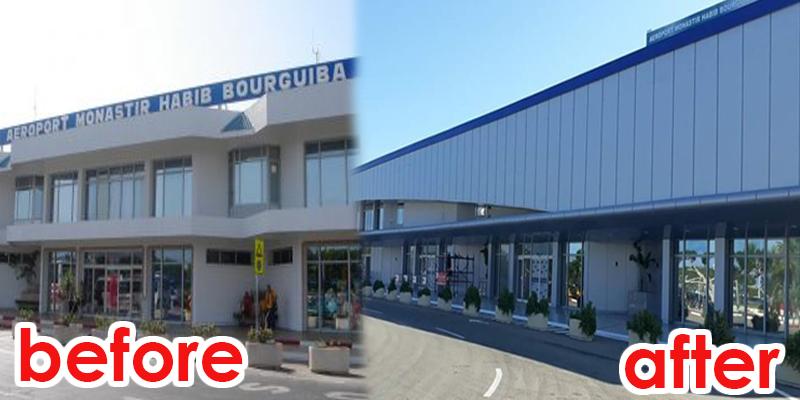 L'Aéroport habib borguiba Monastir fait peau neuve !