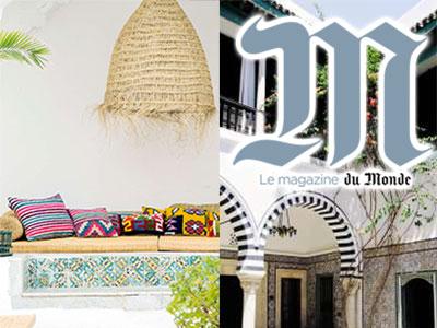 Quand Le Monde écrit : Les maisons d'hôtes, une nouvelle façon de découvrir la Tunisie